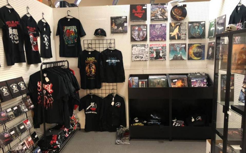 Metal Blade Records Retail Store Las Vegas