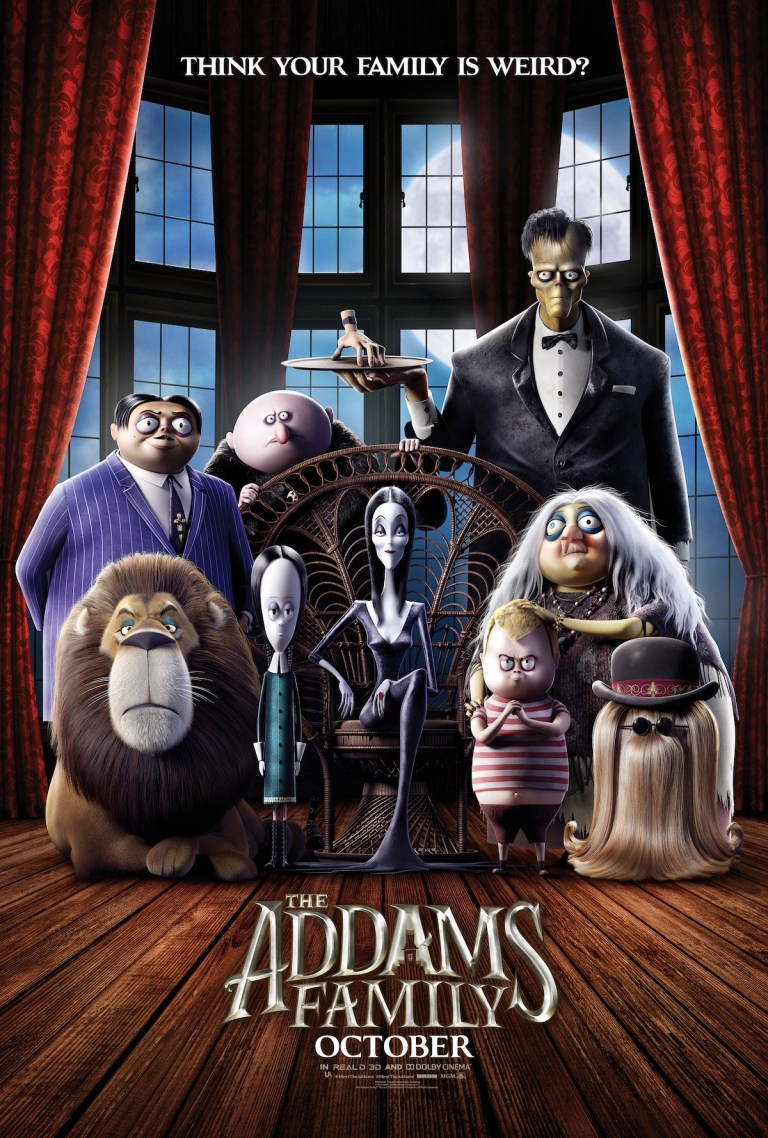 The Addams Family Animated Poster