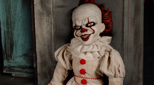Pennywise IT 2017 Roto Plush Doll Mezco