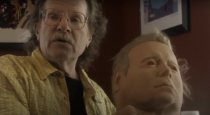 Tommy Lee Wallace Recreates Michael Myers Mask Shatner