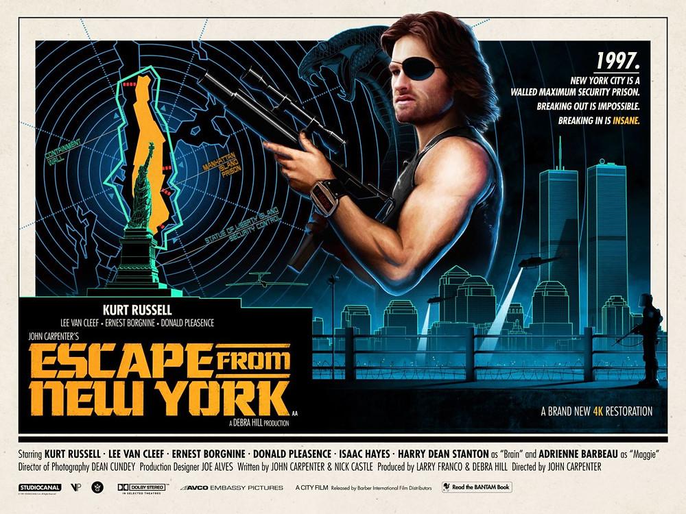 Matt Ferguson Poster John Carpenter Escape Form New York