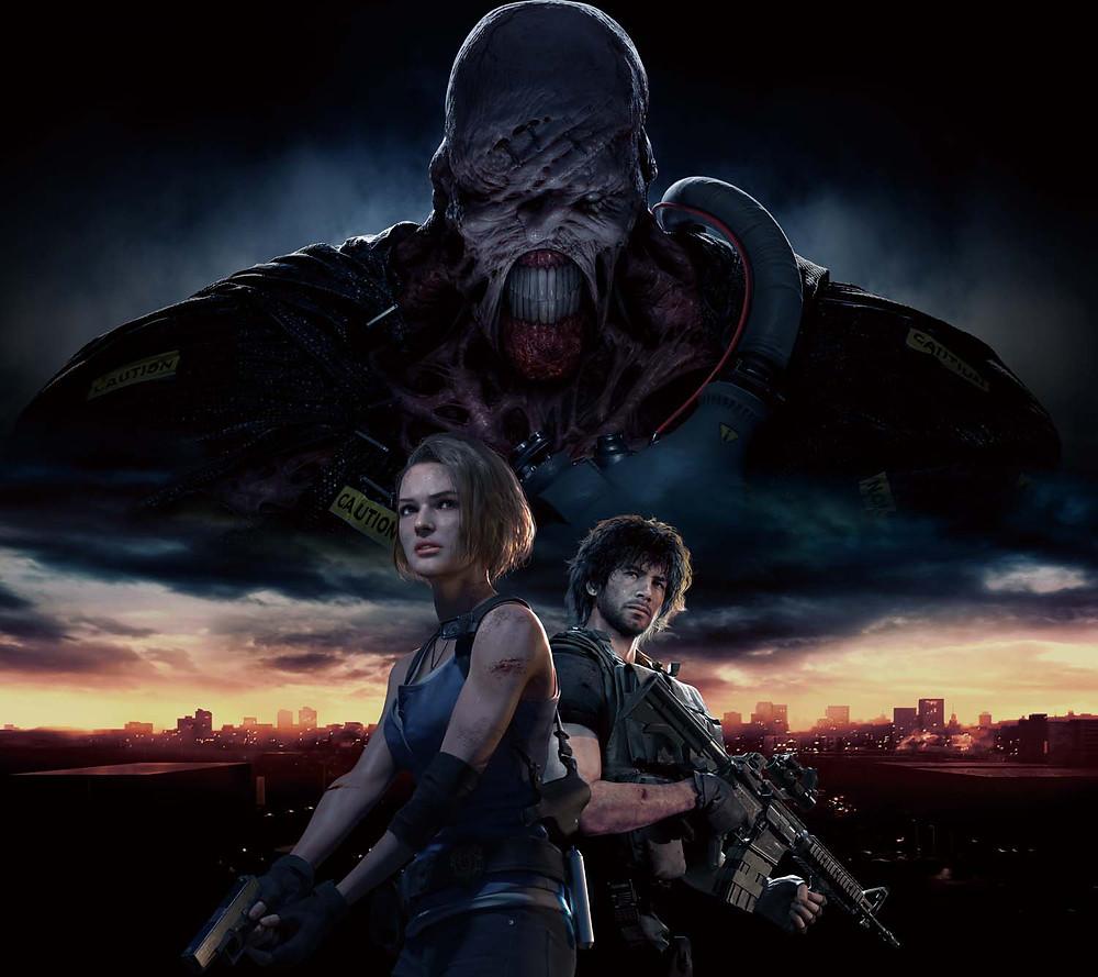Resident Evil 3 Remake Key Art