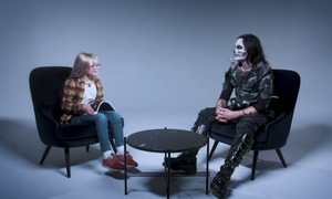 Dani Filth Nine-Year-Old Interview