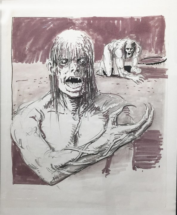 C.H.U.D. Concept art Tim Boxell Hyena Gallery