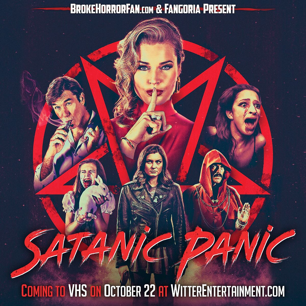 Satanic Panic Broke Horror Fan VHS
