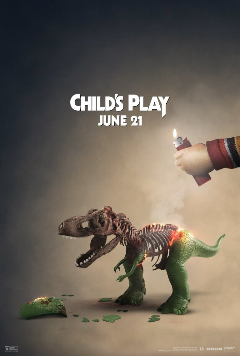 Child's Play Toy Story 4 Rex Poster