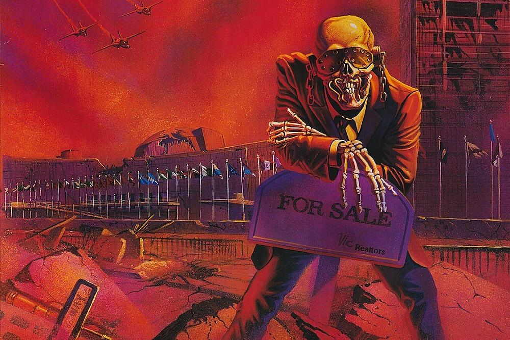 Megadeth Peace Sells NECA
