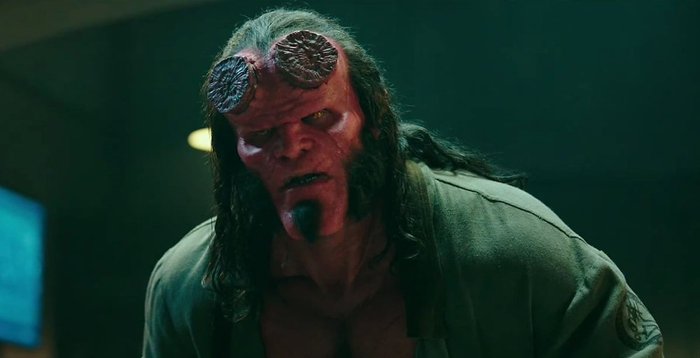 Hellboy David Harbour Brutal Trailer