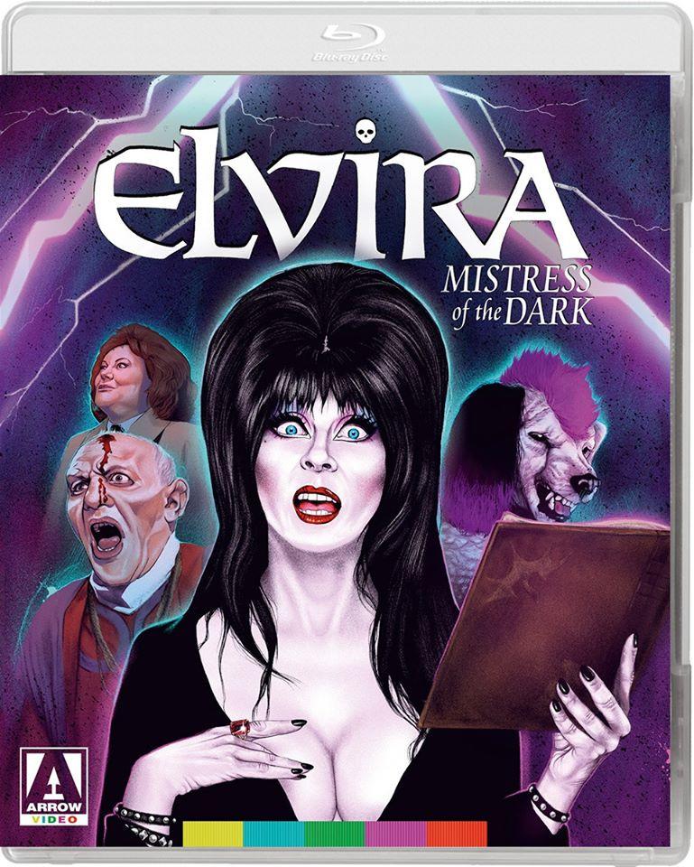 Elvira Mistress of the Dark US Blu-ray Arrow Video