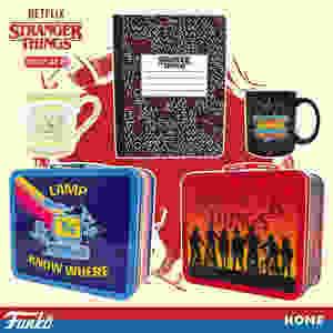 Funko Stranger Things Season 3 Merchandise