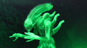 """NECA Reveals Glow in the Dark """"Ultimate Big Chap""""  Figure from 'Alien'"""