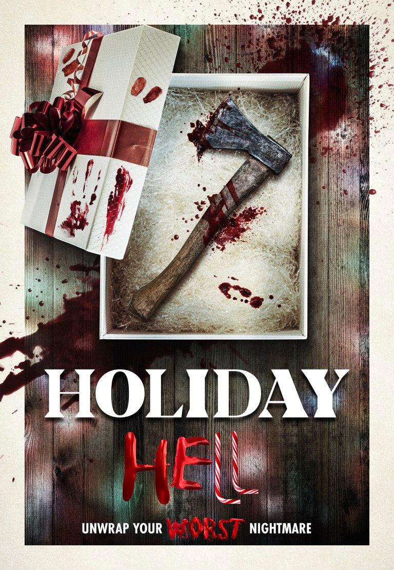 Holiday Hell Horror Anthology Jeffrey Combs Poster