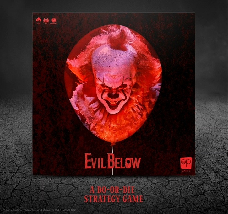 IT: Evil Below Board Game
