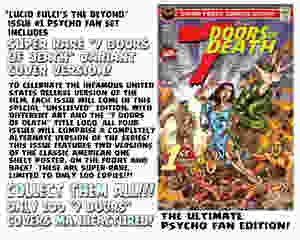 Eibon Press The Beyond Issue 1 7 Doors of Death
