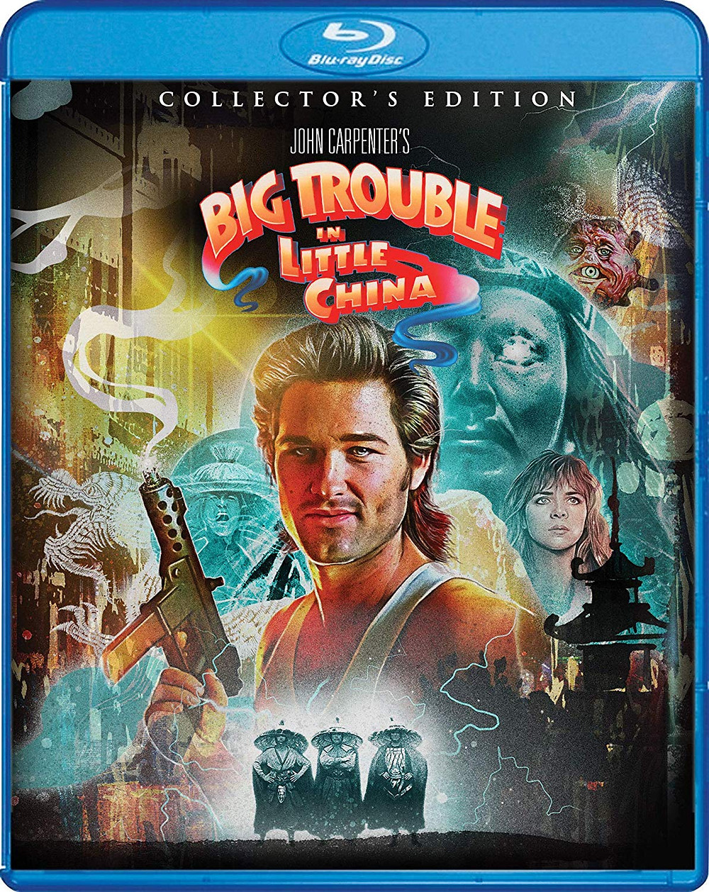Big Trouble in Little China Scream Factory Blu-ray