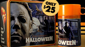 John Carpenter's 'Halloween' Lunchbox and Thermos Sets Now Up for Pre-Order from Fright Rags
