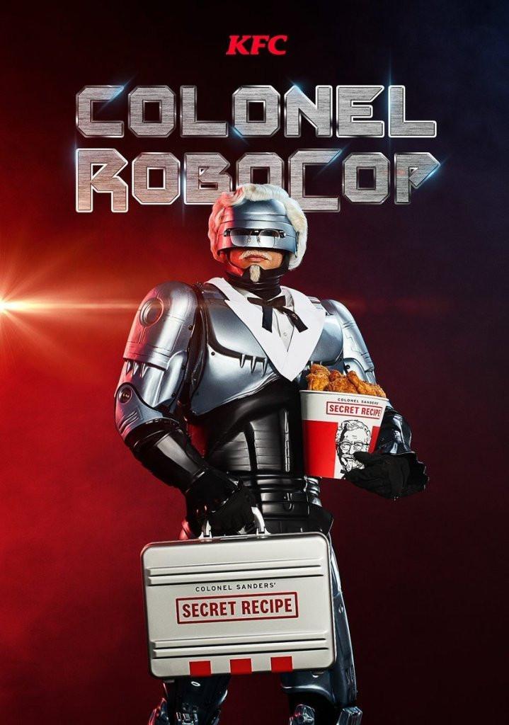 Peter Weller Colonel RoboCop KFC