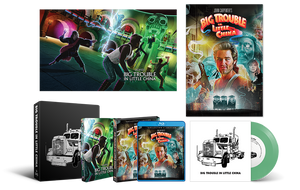 Big Trouble In Little China Scream Factory Steelbook Vinyl