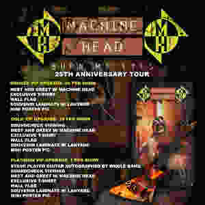 Machine Head Burn My Eyes Tour VIP
