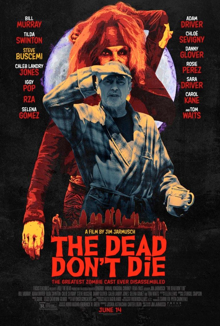 The Dead Don't Die Poster Steve Buscemi