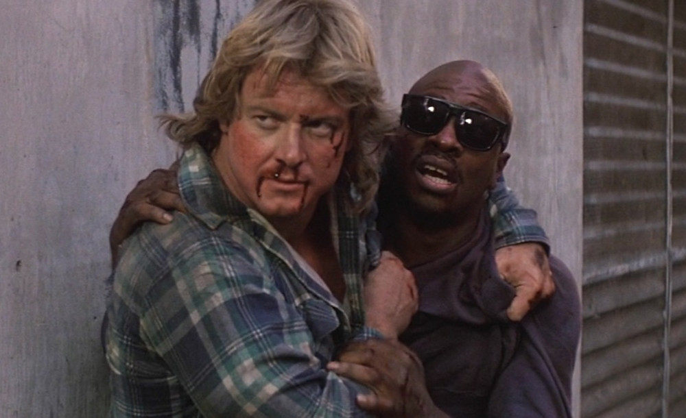 In Search of Darkness They Live Fight Clip