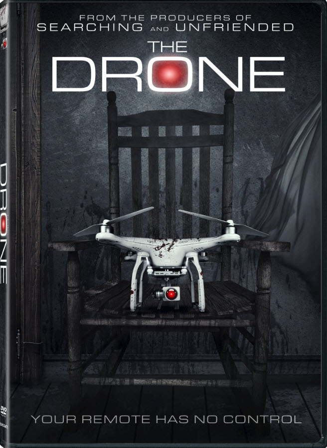 The Drone Jordan Rubin Trailer DVD