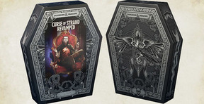 Arriving This Halloween, 'Dungeons & Dragons: Curse of Strahd Revamped' Comes in a Coffin-Shaped Box