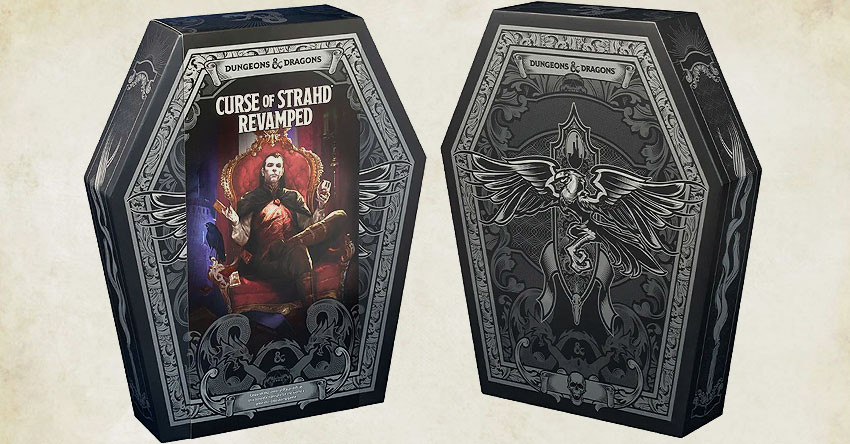 Dungeons & Dragons Curse of Strahd Revamped Collector's Edition Announced