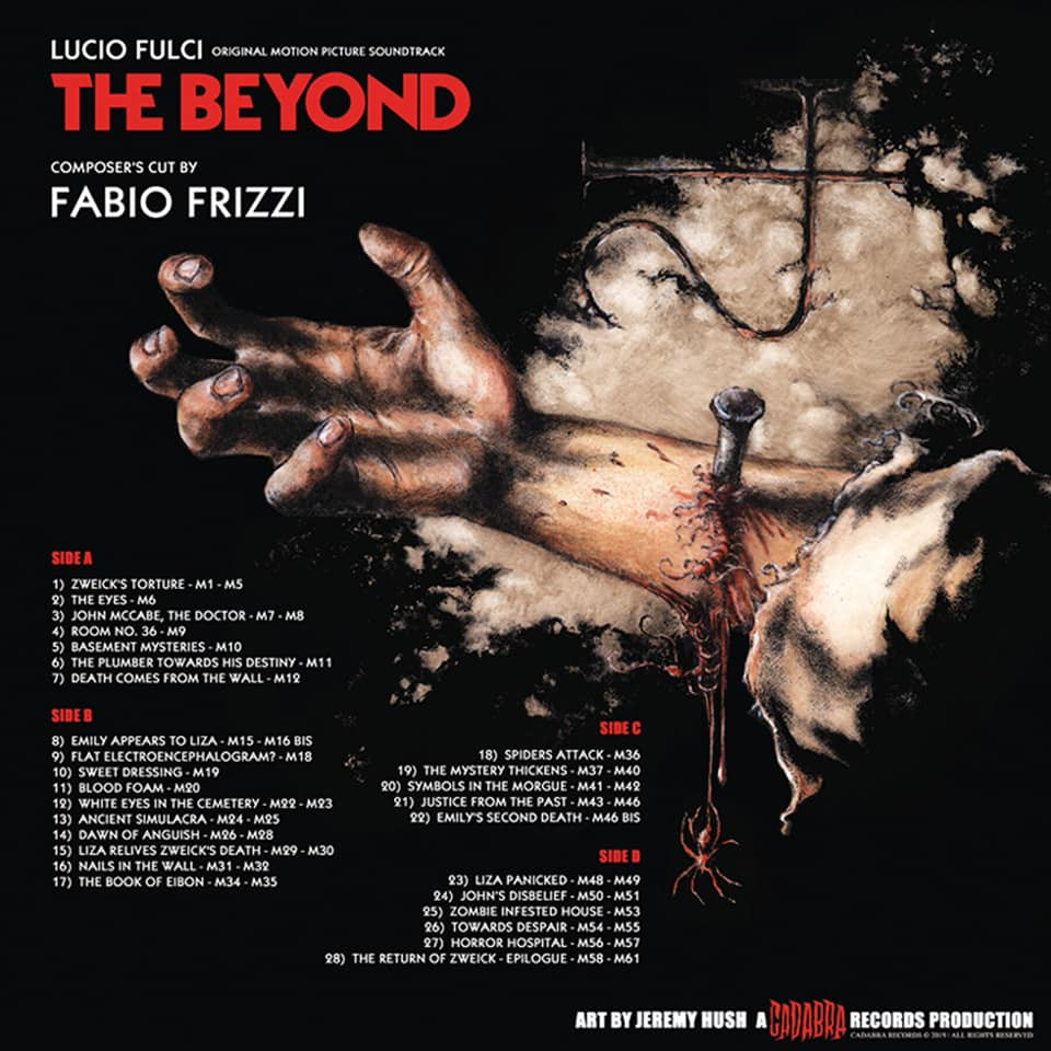 Cadabra Records The Beyond Composer's Cut By Fabio Frizzi