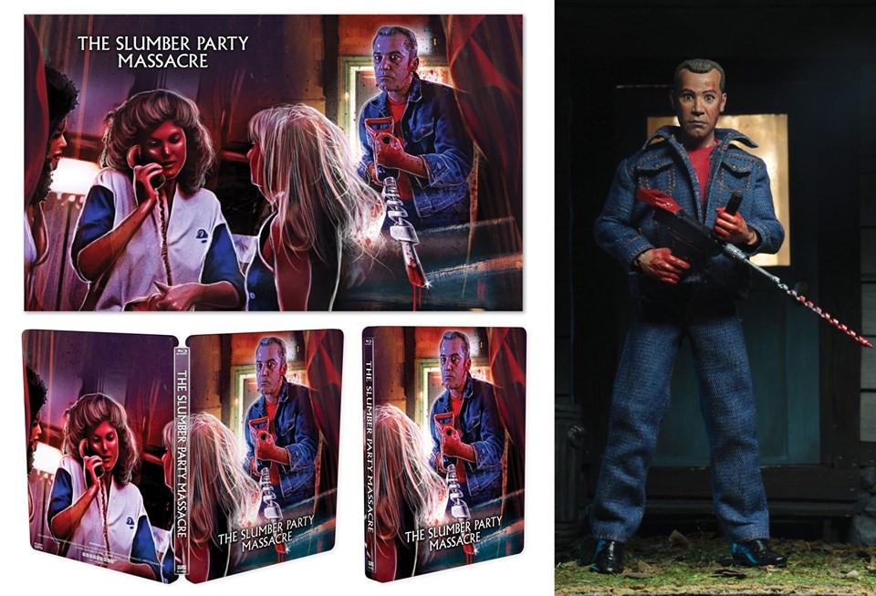 Slumber Party Massacre Scream Factory Steelbook Figure