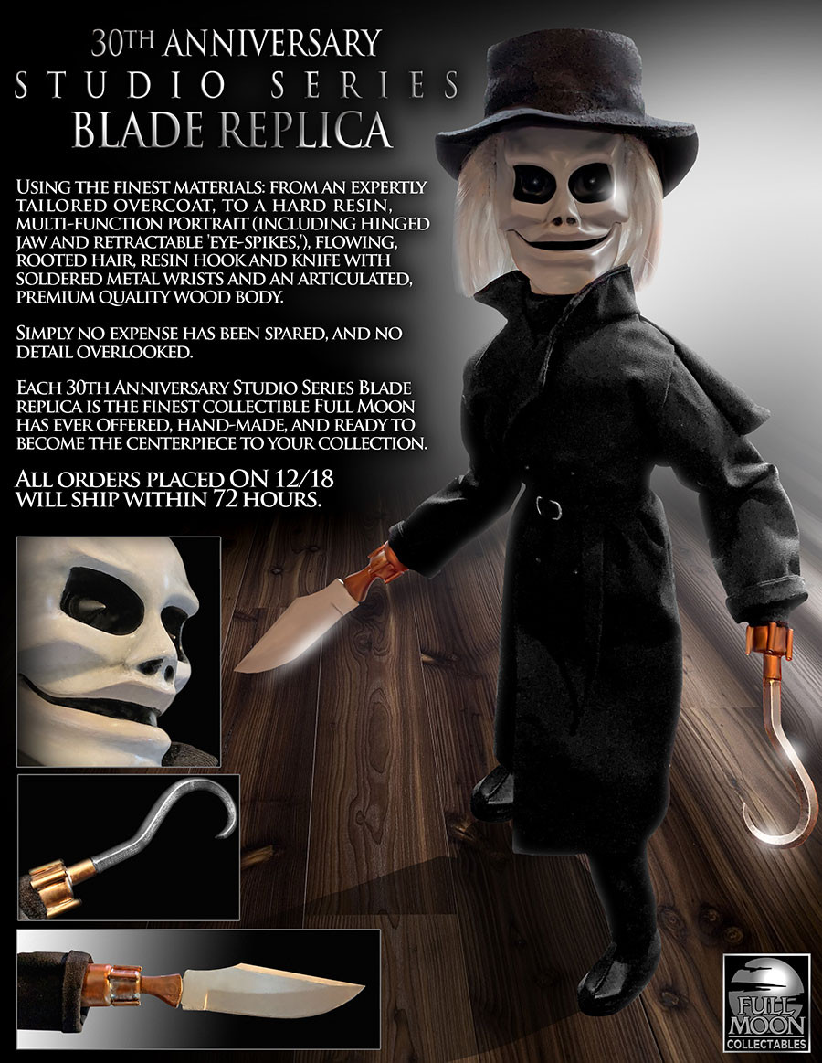 30th Anniversary Blade Figure Puppet Master