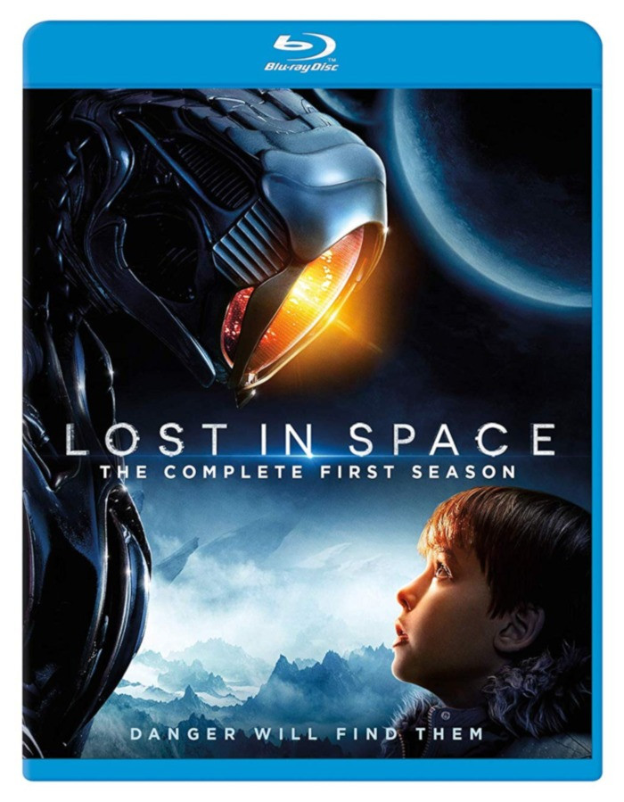 Lost In Space Netflix Blu-ray DVD