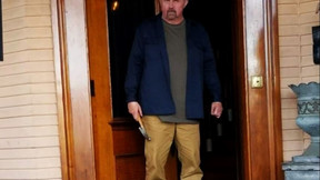 First Look At Kane Hodder In Upcoming Horror Film 'Knifecorp'