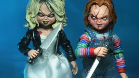 [Images] NECA's Ultimate 'Bride of Chucky' Two Pack Arrives Next Month
