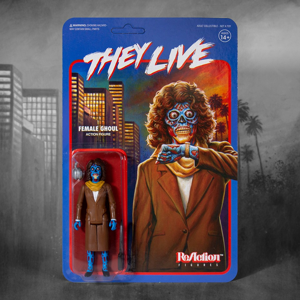 They Live Super7 ReAction Figures