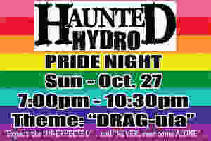 Haunted Hydro Pride Night