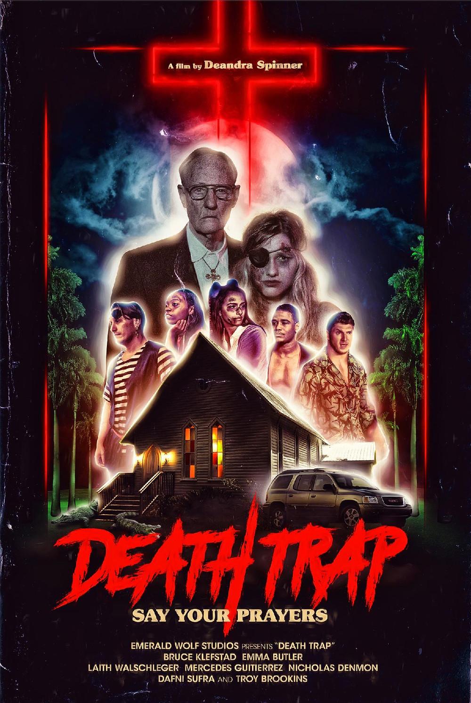 Death Trap Deandra Spinner Poster
