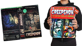 [Gift Guide] Creepy Co.'s 'Creepshow' VHS Throw Blanket And Comic Cook Plush