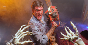 Bruce Campbell Hosting Original 'Evil Dead' Trilogy at the Midway Drive-In Theater in Dixon, IL