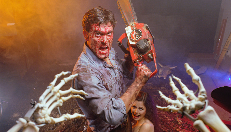 Bruce Campbell Evil Dead Midway Drive-In