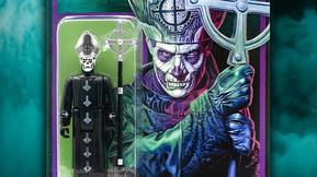 Super7 Reveals ReAction Figure of Ghost's Papa Emeritus II