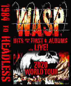 W.A.S.P. 1984 to Headless World Tour