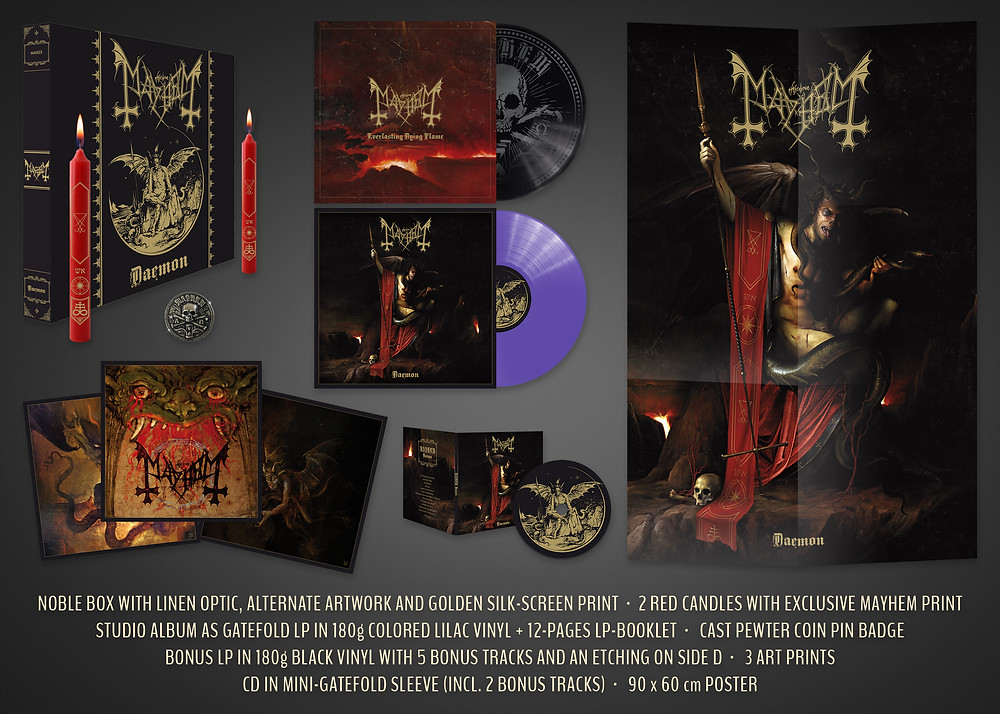 Mayhem Daemon Deluxe Edition Box Set