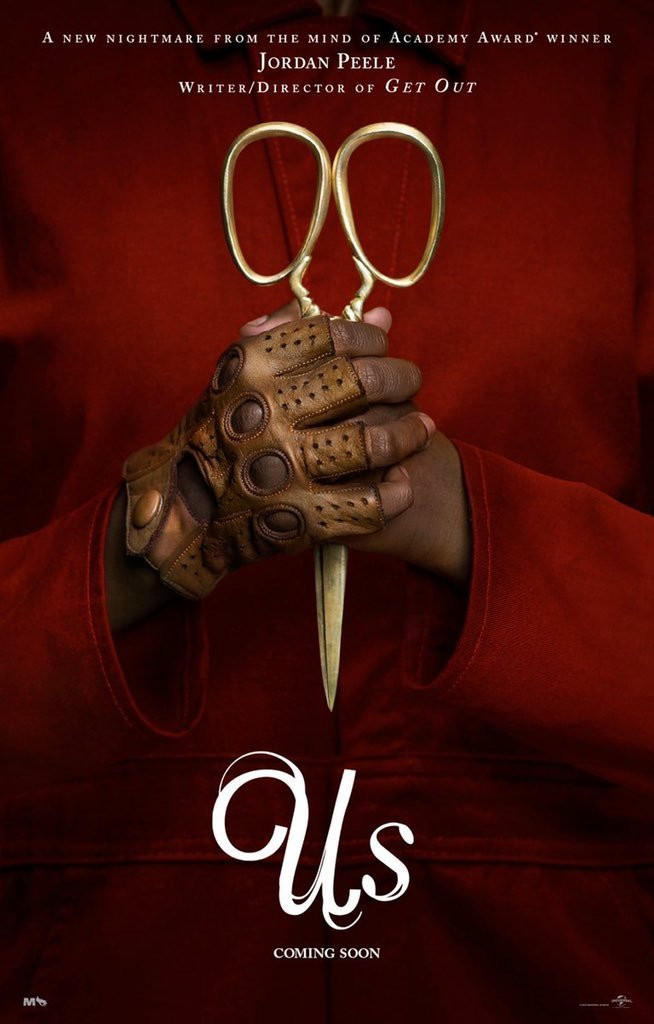 Us Movie Poster Jordan Peele