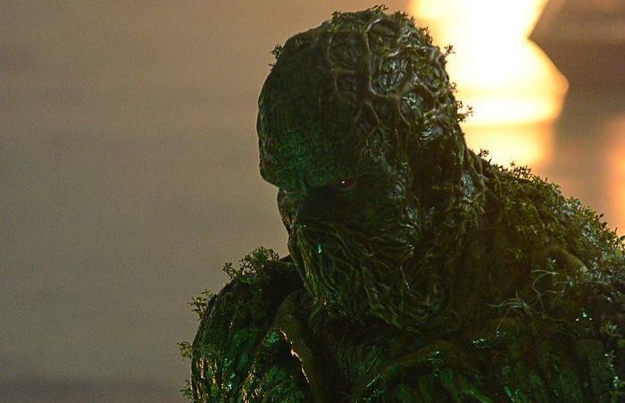 Swamp Thing New Image Derek Mears