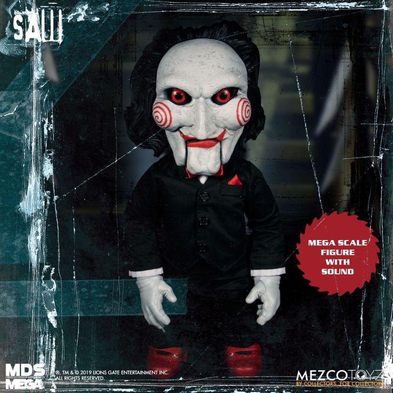 Mezco Talking Bill Puppet Saw