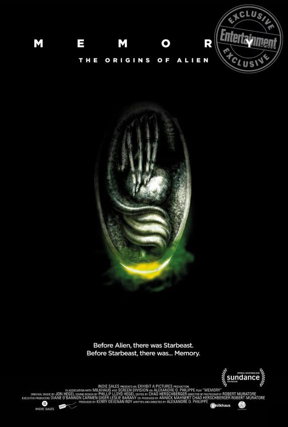 Memory: The Origins Of Alien Poster H.R. Giger