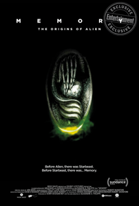 Memory: The Origins Of Alien Poster H.R. Giger