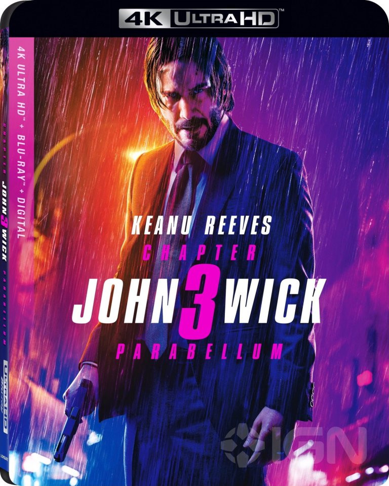 John Wick Chapter 3 Home Video Release Details