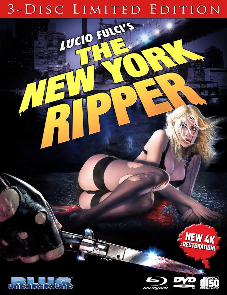 New York Ripper Review 4K 3-Disc Blue Underground